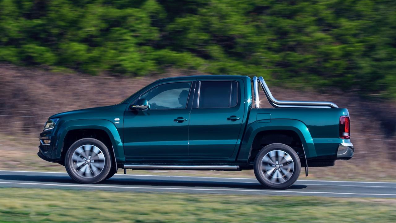 2019 Volkswagen Amarok V6 Ultimate 580TDI Peacock Green Profile