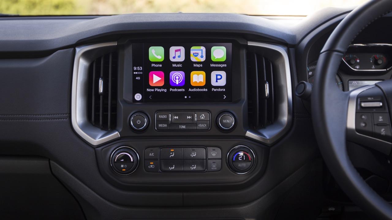 Holden Colorado MyLink Touchscreen
