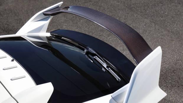 2018 Honda Civic Type R carbon fibre spoiler