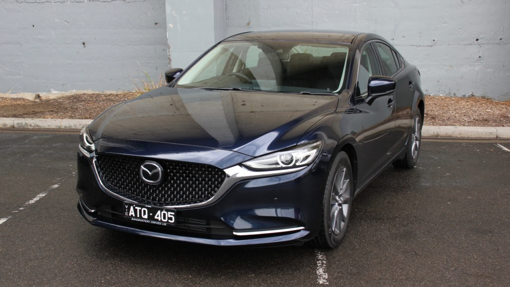 2018 Mazda 6 Touring front 3/4 high