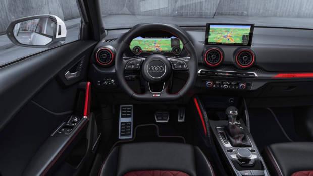 2019 Audi SQ2 dashboard
