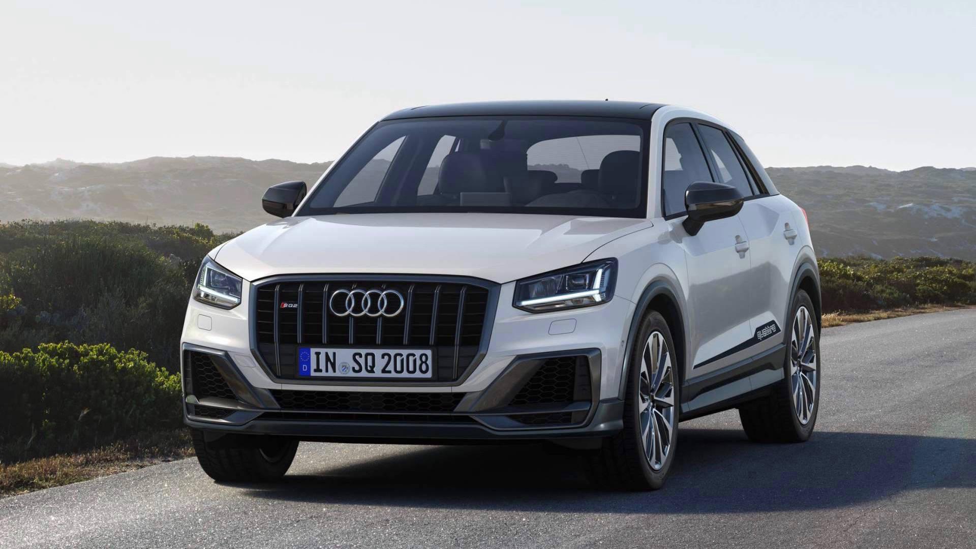 2019 Audi SQ2 front 3/4