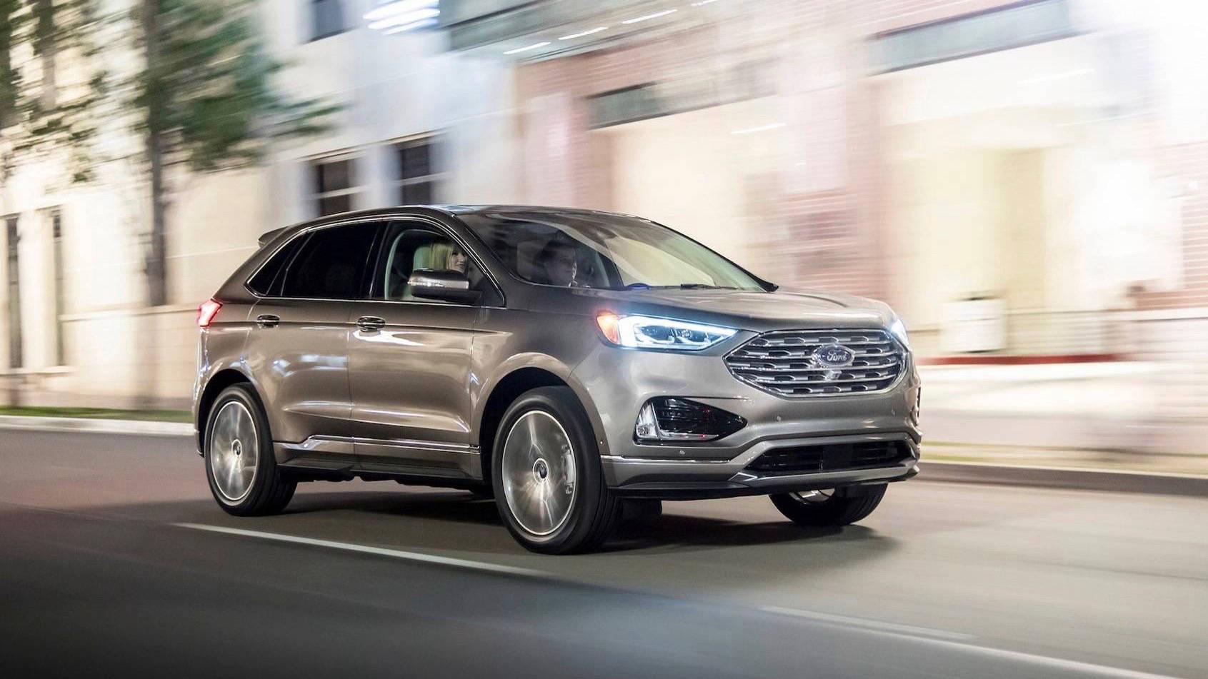 2019 Ford Endura Titanium front driving