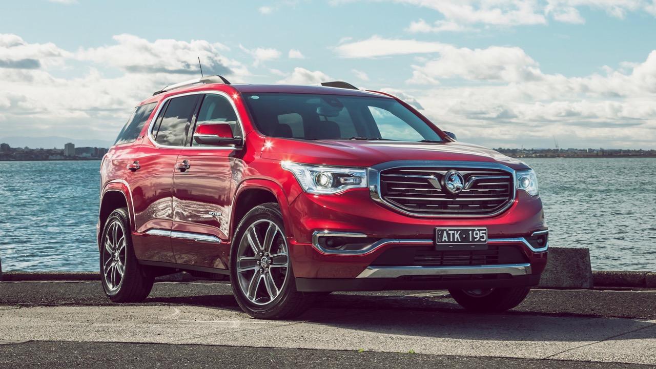 2019 Holden Acadia LTZ-V Glory Red Front