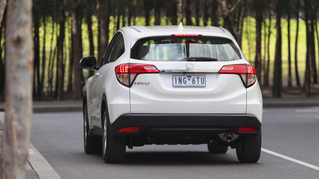 2019 Honda HR-V VTi back end