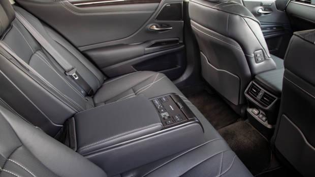 2019 Lexus ES300h Sports Luxury rear seat