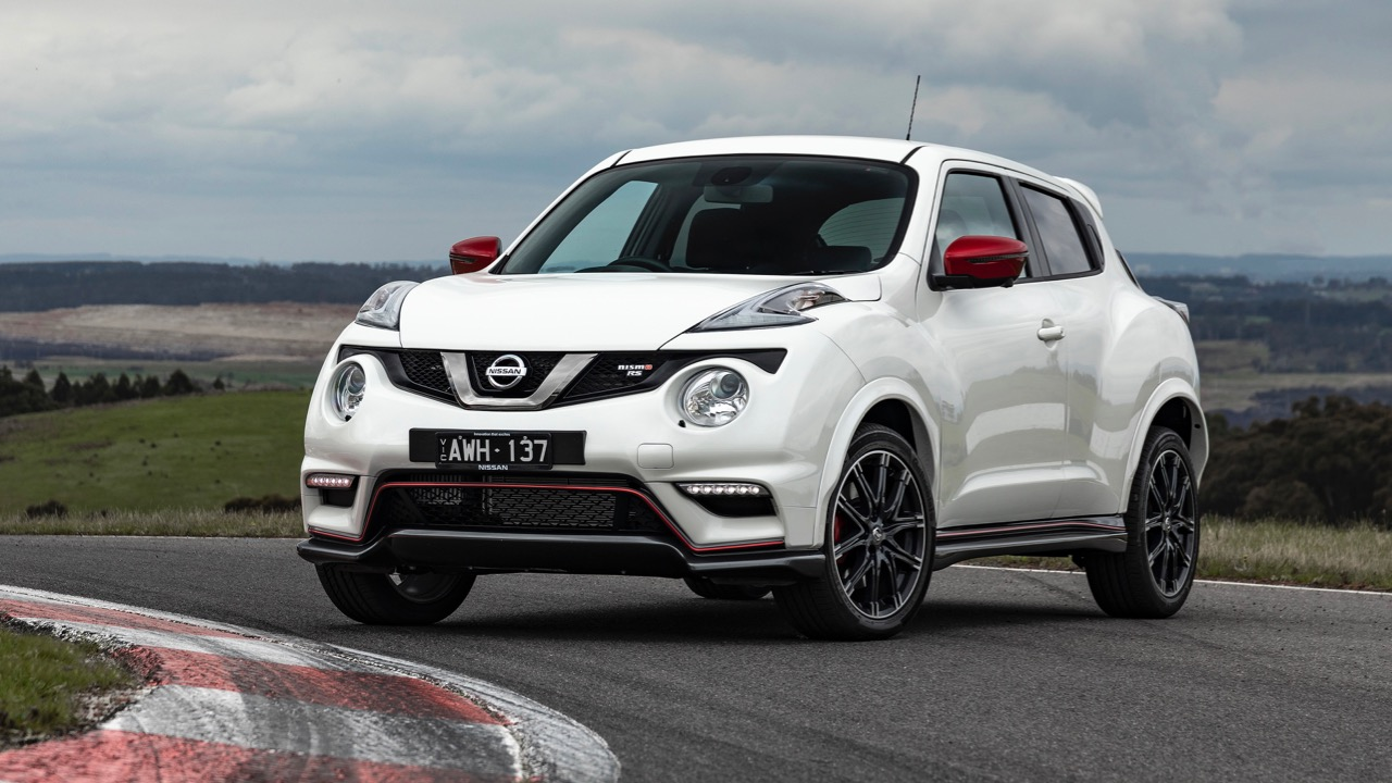 2019 Nissan Juke NISMO RS front