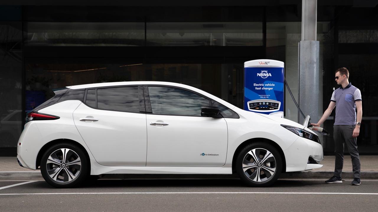 2019 Nissan Leaf EV Australia Charging
