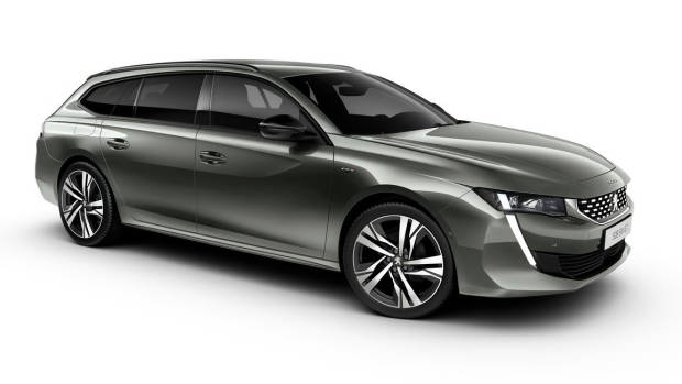 2019 Peugeot 508 Touring front side 3/4