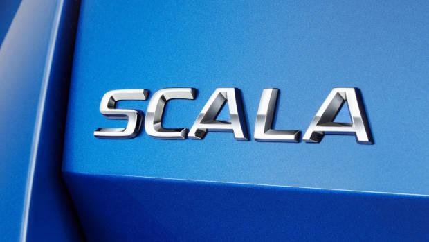 2019 Skoda Scala badge
