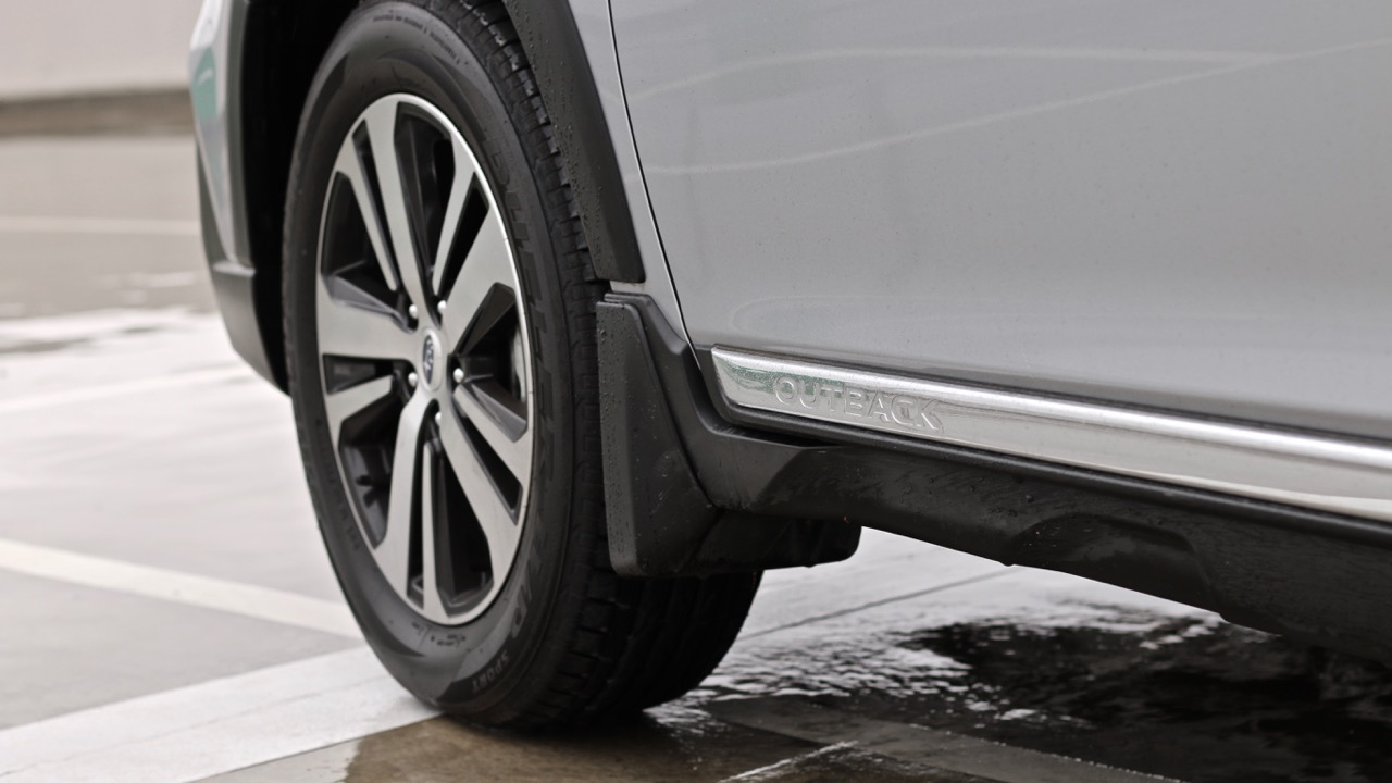 2019 Subaru Outback 3.6R chrome sills