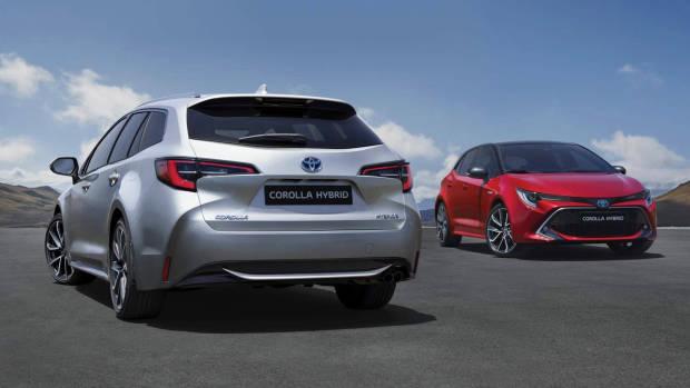 2019 Toyota Corolla Touring Sports + hatch