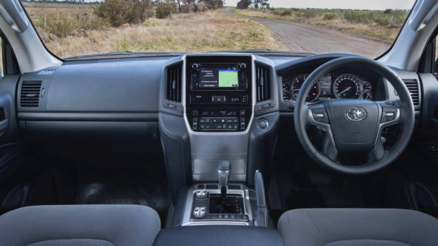 2019 Toyota Land Cruiser 200 GXL interior