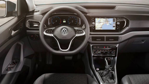 2019 Volkswagen T-Cross dashboard