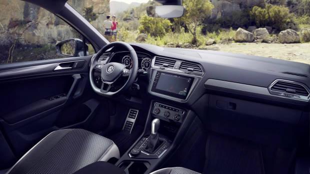 2019 Volkswagen Tiguan Offroad dashboard