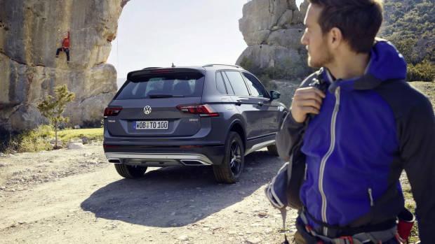 2019 Volkswagen Tiguan Offroad rear