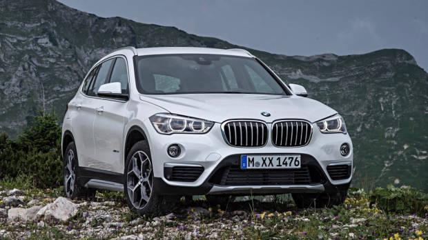 2019 BMW X1 white front