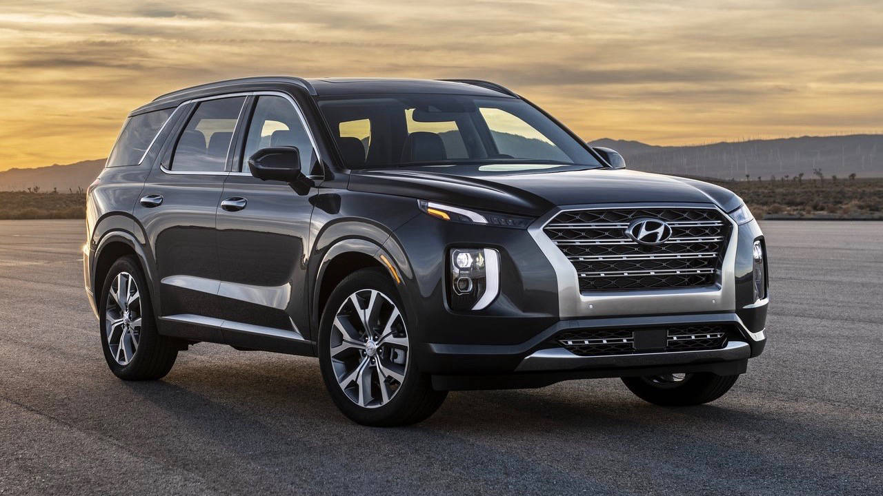 2019 Hyundai Palisade front 3/4