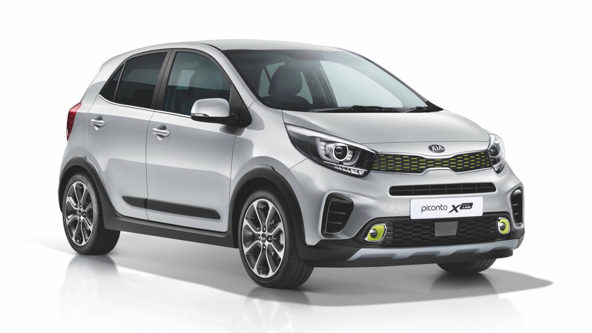 2019 Kia Picanto AO Edition silver front