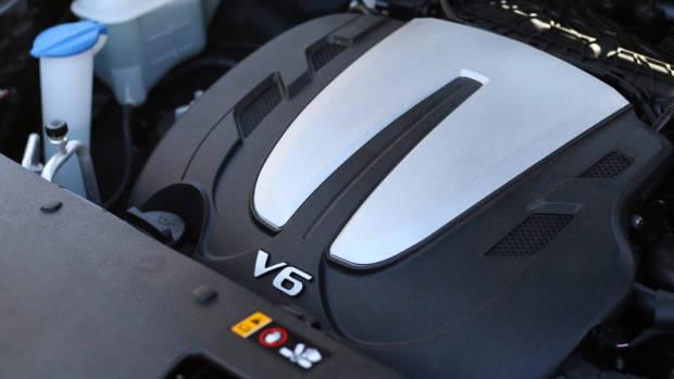 2019 Kia Sorento GT-Line V6 engine