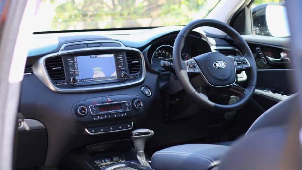 2019 Kia Sorento GT-Line interior