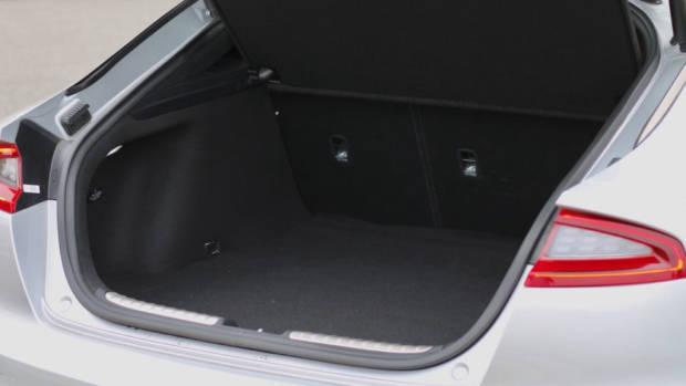 2019 Kia Stinger GT boot space