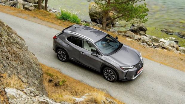2019 Lexus UX grey roof