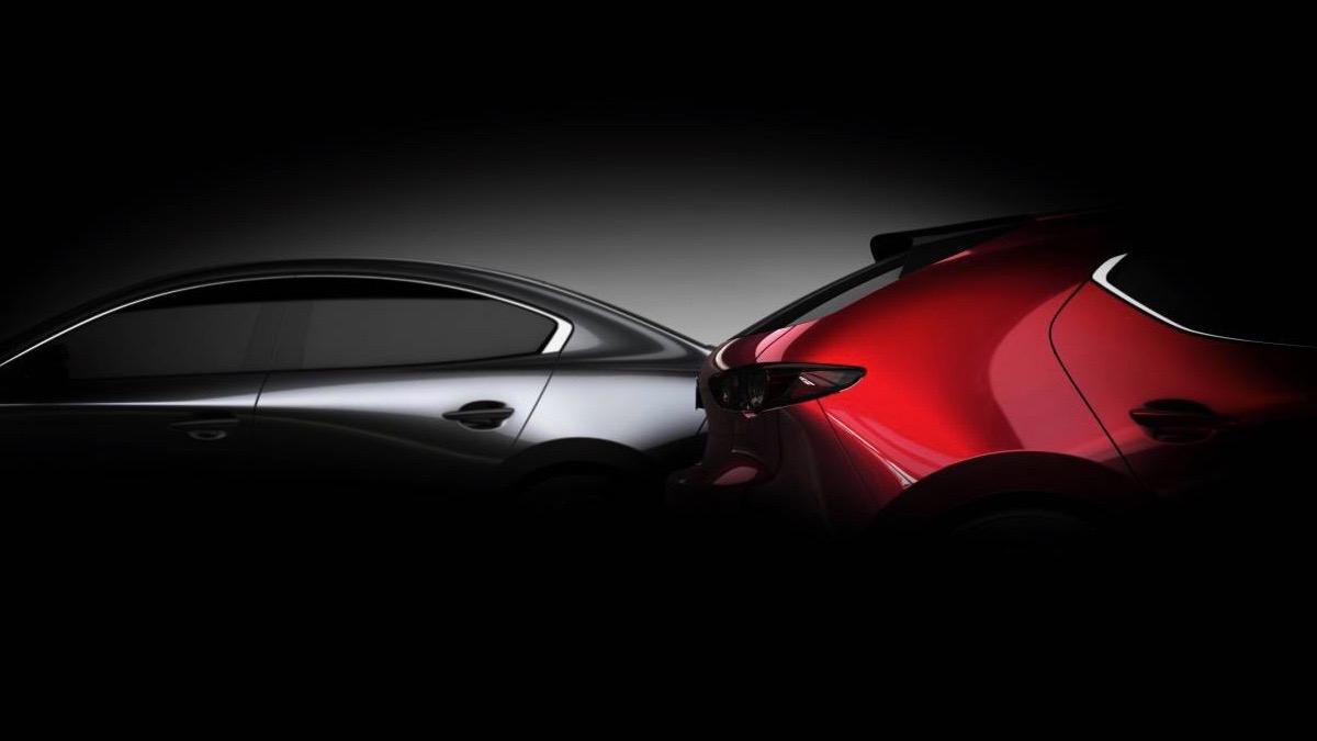 2019 Mazda 3 teaser photo