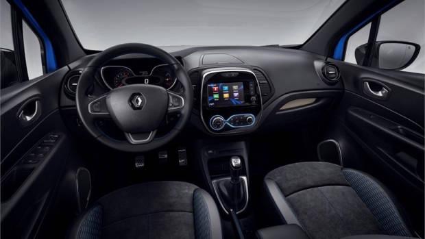 2019 Renault Captur S-Edition interior