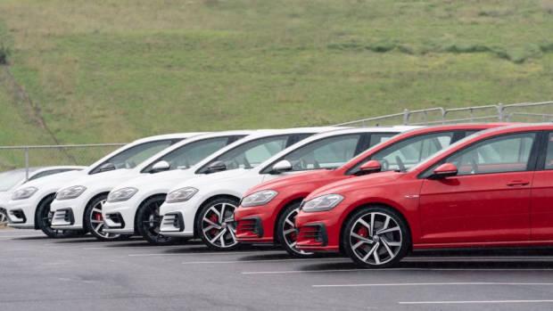 2019 Volkswagen Golf GTI Lineup