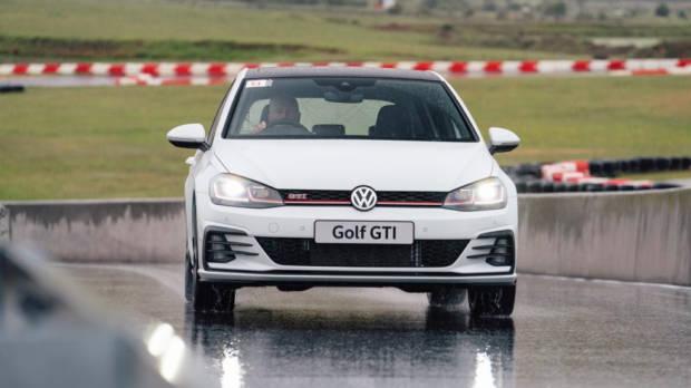 2019 Volkswagen Golf GTI on Track