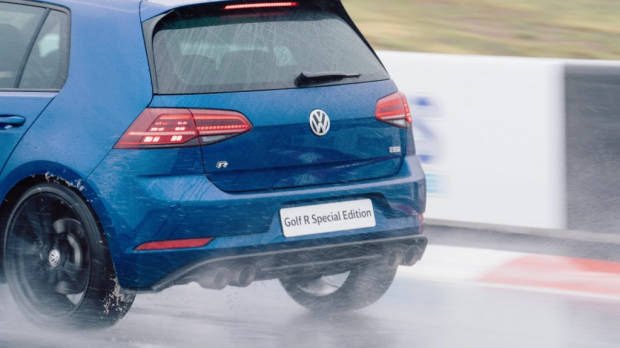 2019 Volkswagen Golf R Special Edition on Track