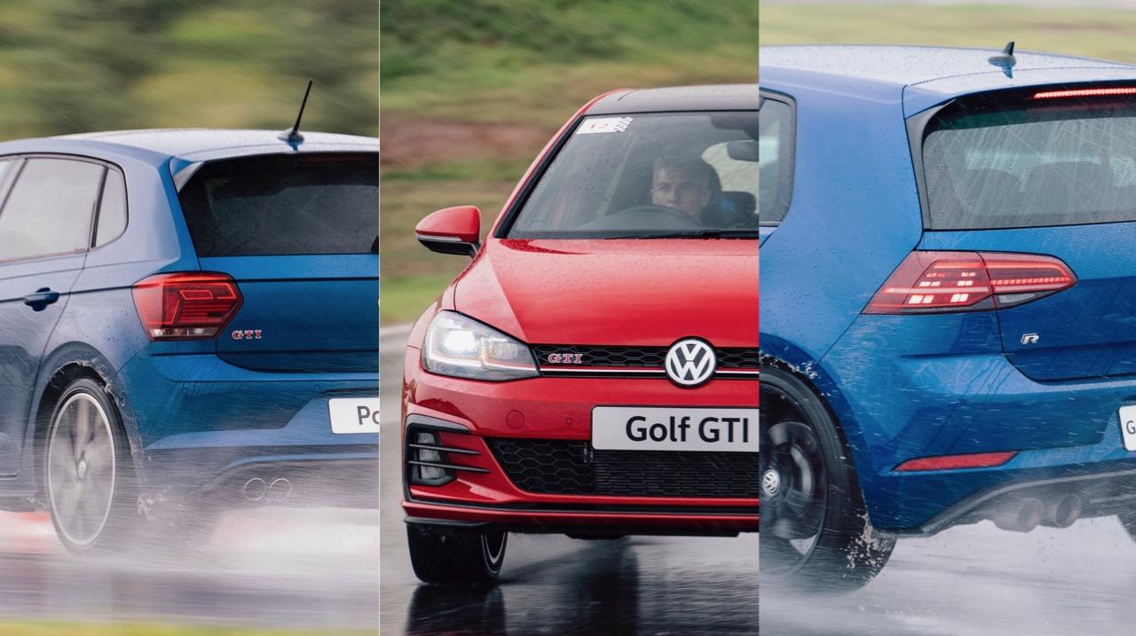 2019 Volkswagen Polo GTI Golf GTI Golf R