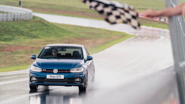 2019 Volkswagen Polo GTI on Track
