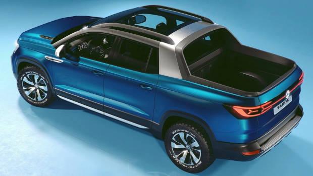 2019 Volkswagen Tarok concept rear 3/4