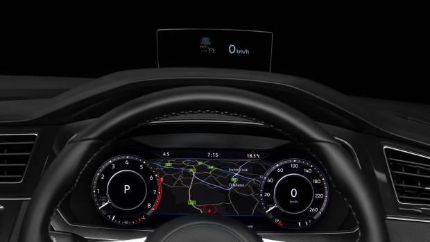 2019 Volkswagen Tiguan Wolfsburg Edition HUD