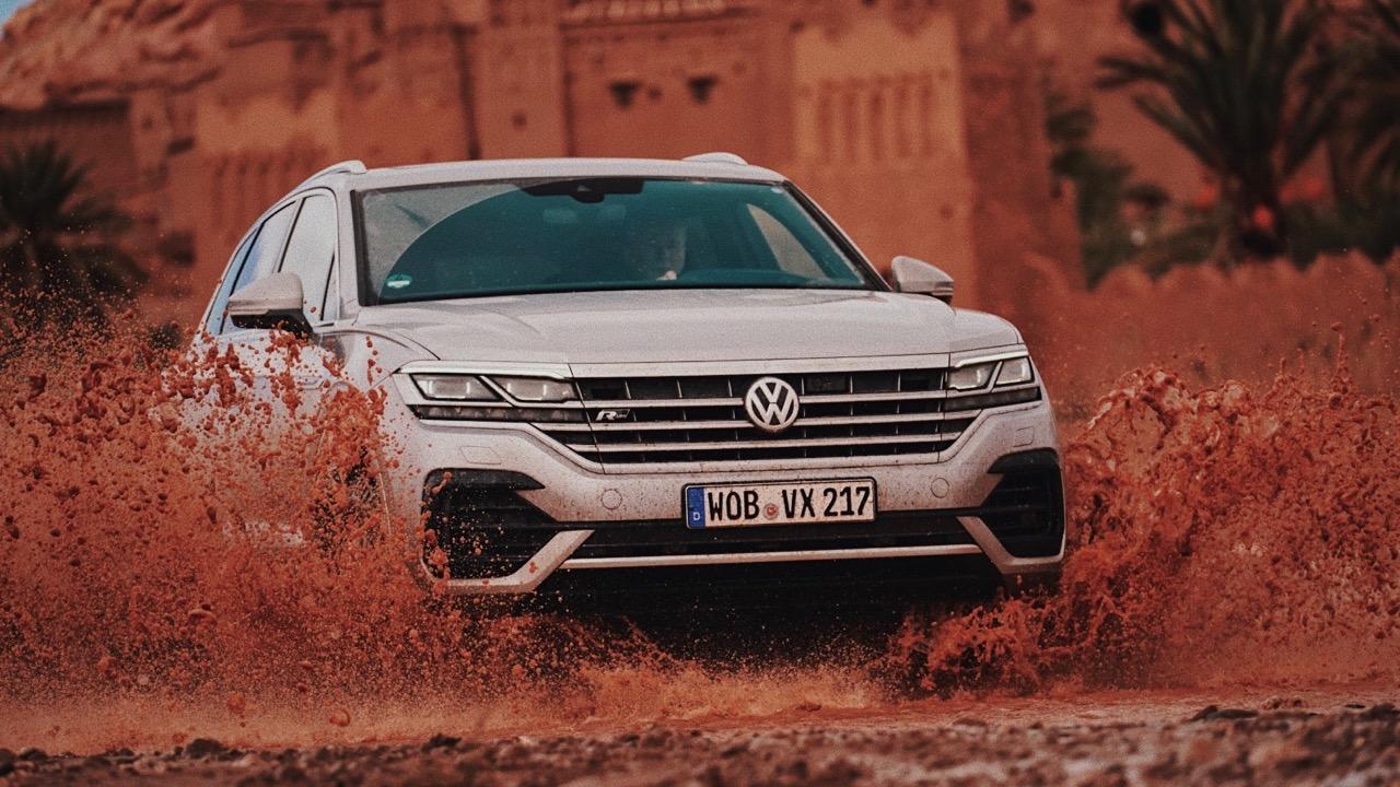2019 Volkswagen Touareg R-Line mud