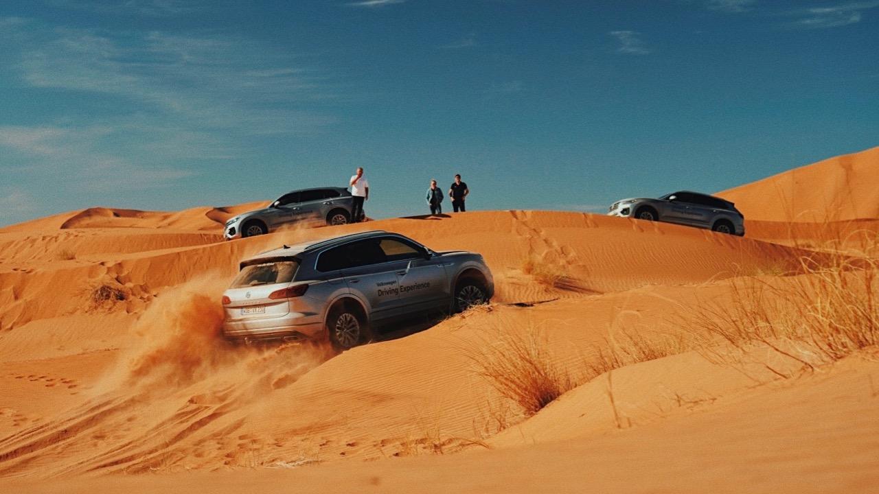 2019 Volkswagen Touareg R-Line sand dune