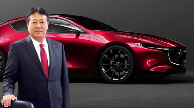 Akira Marumoto Mazda President