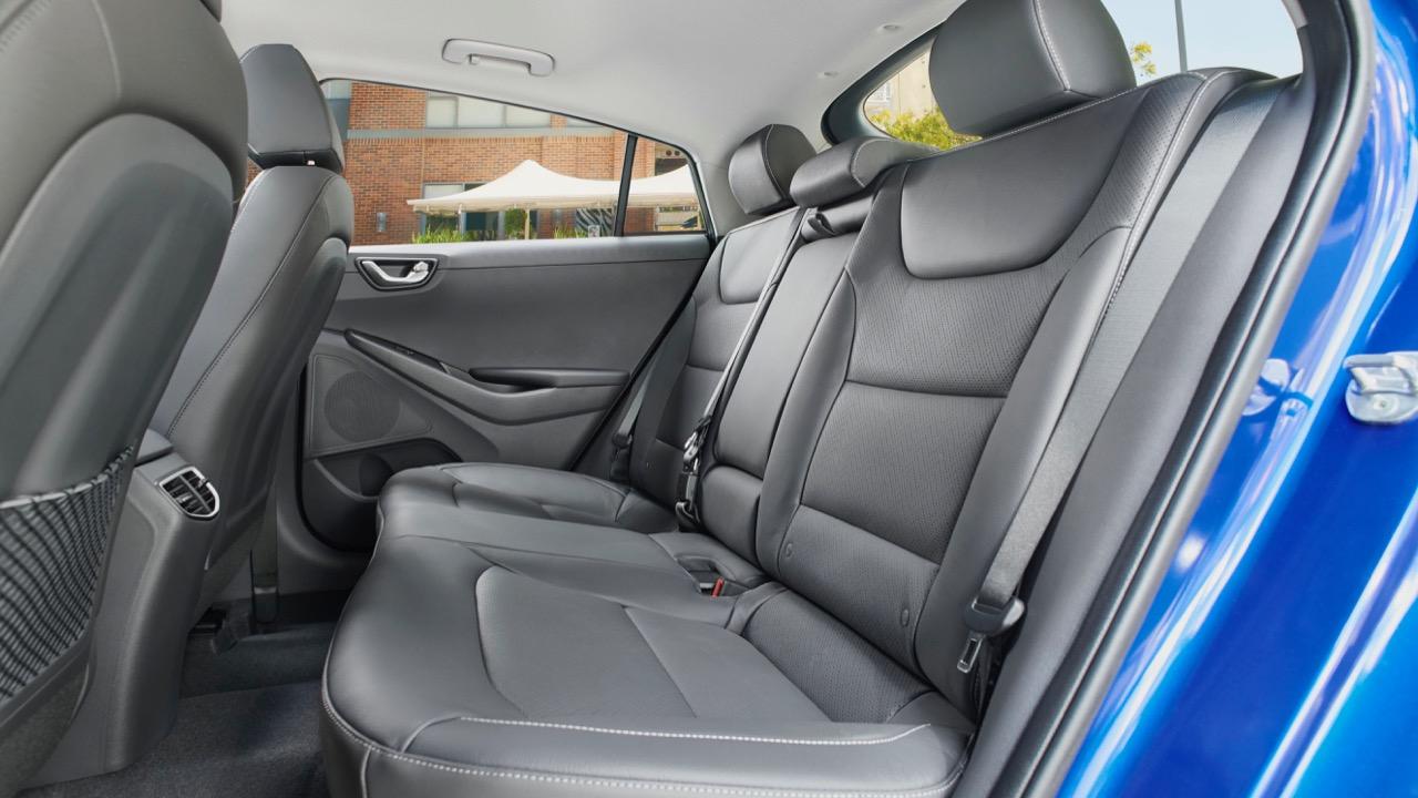 2019 Hyundai Ioniq electric back seat space