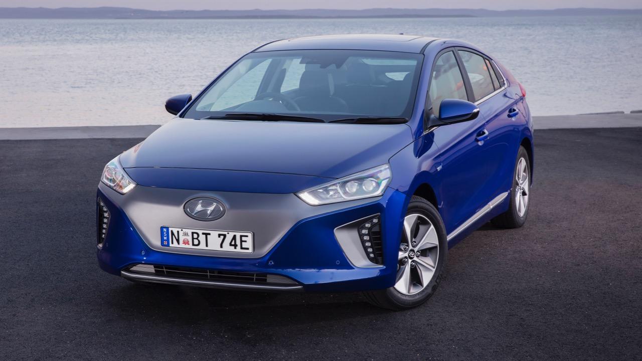 2019 Hyundai Ioniq electric front end