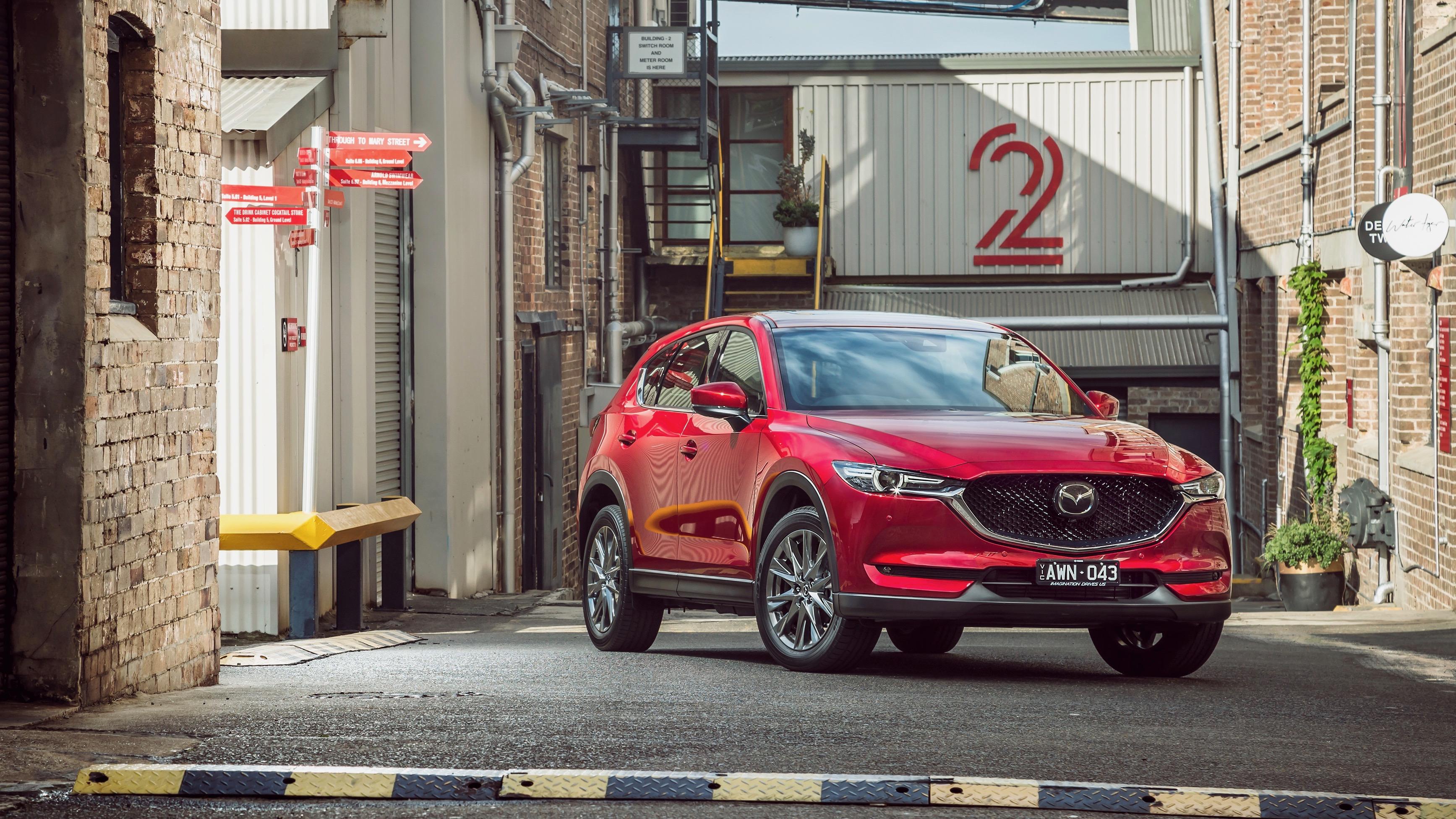 2019 Mazda CX-5 Akera Soul Red Crystal front far