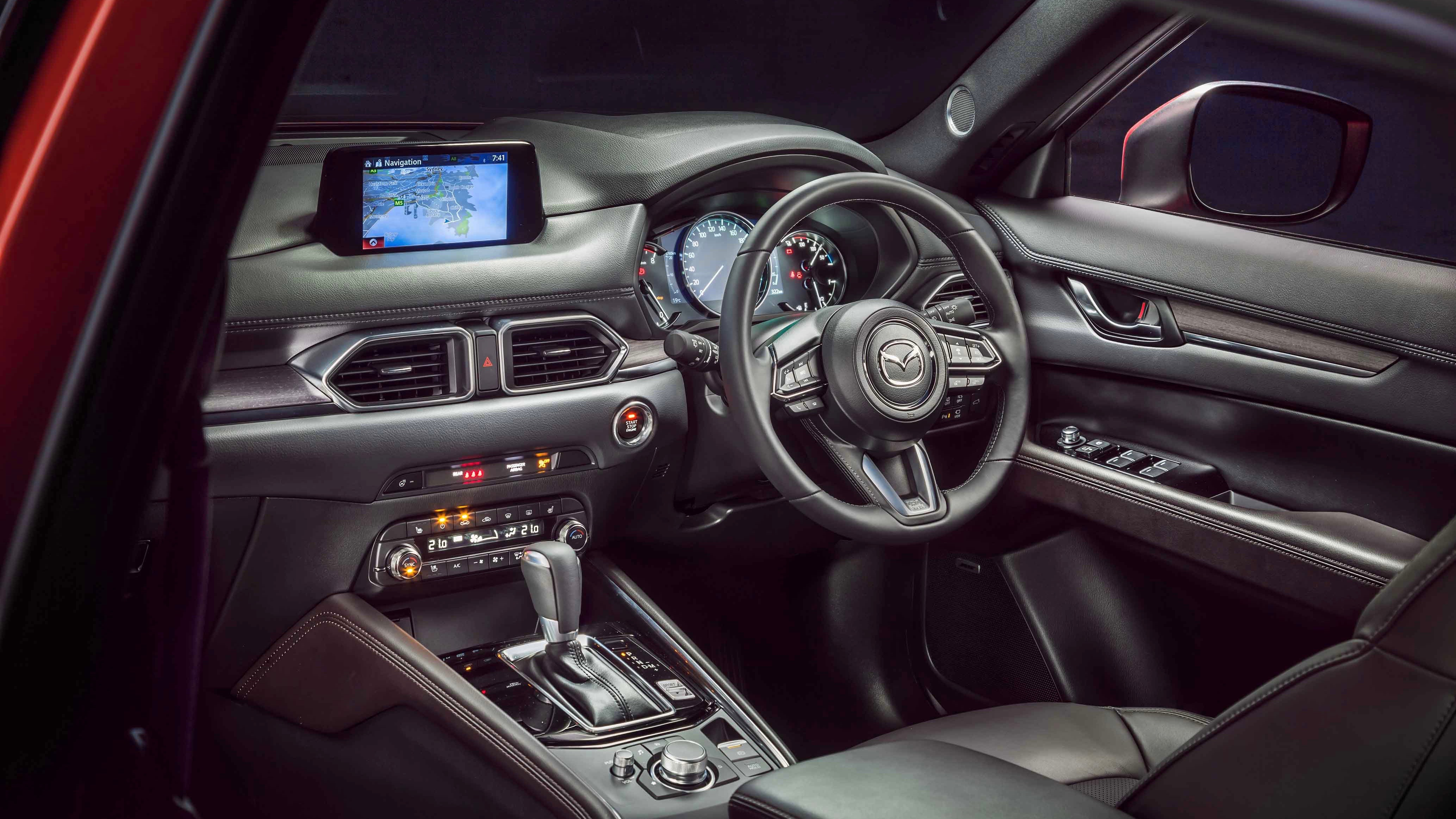 2019 Mazda CX-5 Akera dashboard