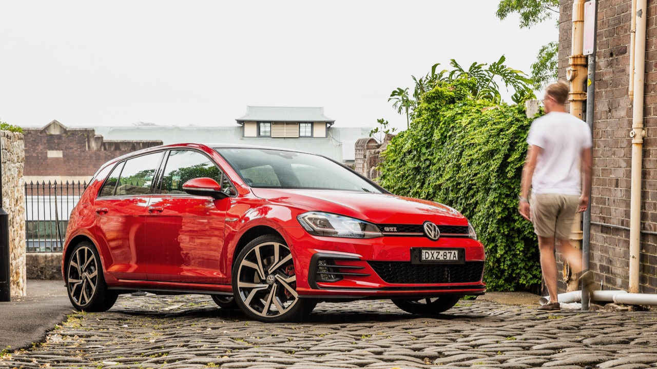 2019 Volkswagen Golf GTI 180kW Tornado Red Tom Baker