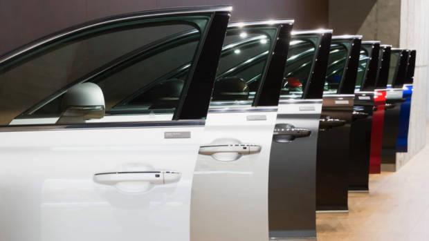 Genesis Store Car Doors