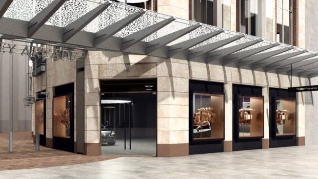 Genesis Sydney Store Pitt St Mall