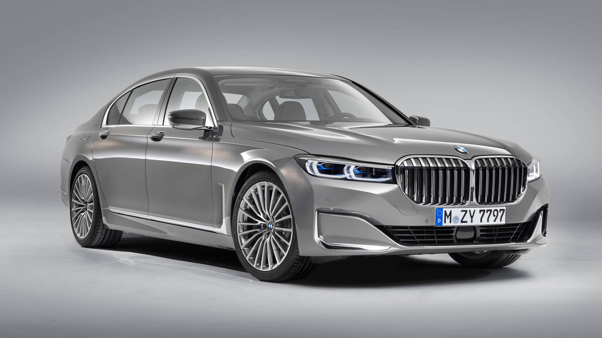 2019 BMW 7 Series front detail