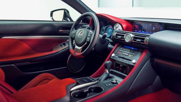 2019 Lexus RC F Track Edition interior