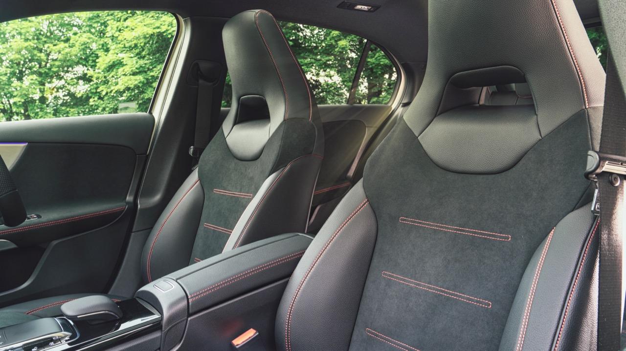 2019 Mercedes-Benz A-Class Sports Seats