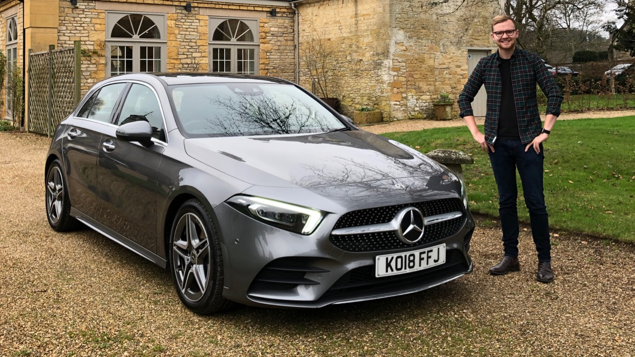 2019 Mercedes-Benz A200 Mountain Grey Tom Baker